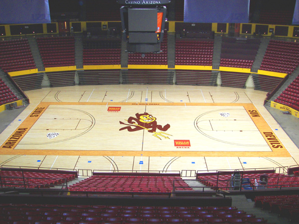 Arizona sports flooring stout hardwood floors for Arizona floors