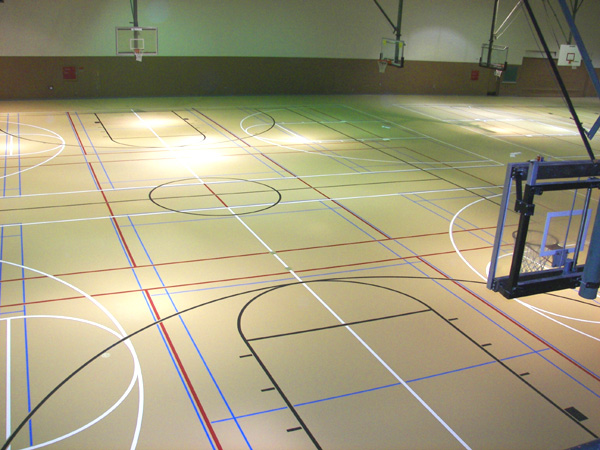 Pulastic synthetic floors stout hardwood floors for Sports flooring